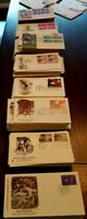 Us stamps first day covers a selection of 5 all different pre 1955