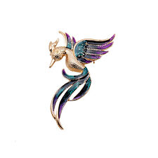 Exquisite Nice Enamel Bird Gold Pin Lady's Brooch Hot