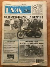 LA VIE DE LA MOTO N°116 de 1993 - COUPE MOTO LEGENDE, ANCETRES, GILERA - Cb10