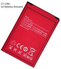 New Cell Phone Battery for LG Optimus Dynamic, L7, L38C