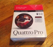 NOVELL PerfectOffice Quattro Pro V6.0 Upgrade for Windows 3.1 - NEW