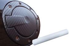 Premium Tankdeckel Tank Deckel Auto PKW Design Folie Set in Carbon Weiß