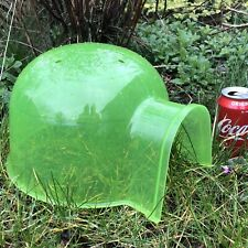 "Guinea Pig House Igloo Green Plastic 12 x 10"" Rats Chinchilla Degus  SM RABBIT"