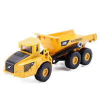 KDW 1/87 Scale Diecast Dump Truck Metal Construction Vehicle Model Toys