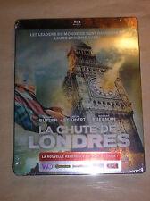 BLU RAY EDITION BOITE METAL / STEELBOX / LA CHUTE DE LONDRES / NEUF SOUS CELLO