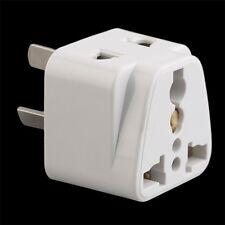 3 pin Chinese Power Plug Adapter Travel Converter Australia UK USA EU ZR