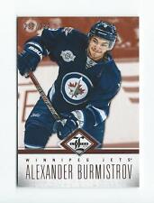 2012-13 Limited #65 Alexander Burmistrov Jets /299