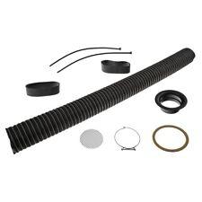 Revotec Kit de alimentación de aire frío 89 mm Negro RCA089BLK