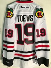 Reebok Premier NHL Jersey Chicago Blackhawks Jonathan Toews White sz L