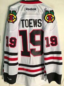 Reebok Premier NHL Jersey Chicago Blackhawks Jonathan Toews White sz L