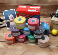 11 Rolls Kinesiology Tape 3NS Muscle Care Sports Taping Physiotape Shoulder Neck