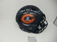 Dan Hampton Chicago Bears Eclipse Signed Autographed Rep FS Helmet 3 Inscription