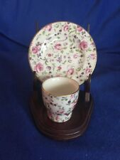 Arklow Ireland Vintage China Tea Cup And Saucer Floral Antique Home