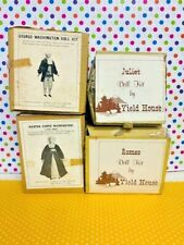 4 Vintage Yield House Porcelain Doll Kits By Louisa May Alcott Nrfb