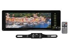 """TVIEW RV808C 8.8"""" TFT LCD Rear View Mirror Monitor Kit w/ License Plate Camera"""