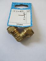 Messing Klemmringverschraubung 12 mm x 12 mm Fitting