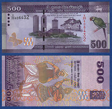 Sri Lanka 500 Rupees P - 126 2010 UNC Low Shipping! Combine FREE!