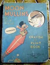Moon Mullins by F Willard Crayon & Paint Book 1932 RARE