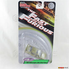 Fast and Furious 1:64 green 1995 Volkswagen Jetta Street Tuner series 9 RC ERTL