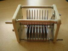 Condensador de aire variable 150pf 4KV hecho por Jackson Bros parte no - 5720/6 HM21