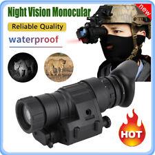500M Waterproof HD Infrared Night Vision Monocular Helmet Telescope for Hunting
