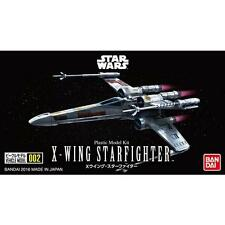 Bandai Vehicle Model 002 Star Wars X-wing starfighter Model Assembly need