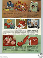 1958 PAPER AD Little Lady Toy Electric Range Coca Cola Machine Kamkap Radar Trap