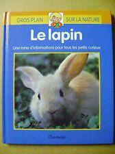 Livre Le lapin tout savoir  /Z54