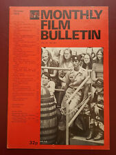 BFI Monthly Film Bulletin Oct 1975 #501 David Hayward, Scott Glenn #B766