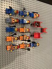 Lego Worker Farmer Handyman Construction Random Town City Lot Of 12 + Tools