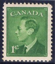 Canada #289(1) 1950 1 cent green KING GEORGE VI MVLH