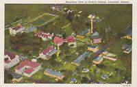 "*Kansas Postcard-""Aerial View of Haskell College""  /Lawrence, KS/  (U1-KS18)"