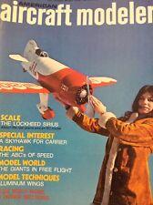 Aircraft Modeler Magazine The Lockheed Sirius April 1973 122717nonrh