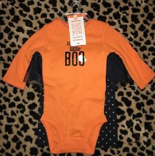 BABY GIRLS NEW NWT SIZE NEWBORN NB CARTERS HALLOWEEN OUTFIT SET AUNTIE'S BOO INF