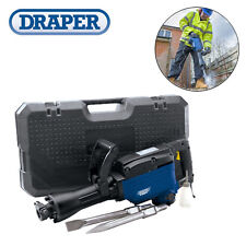 DRAPER 110v Electric 1600W Demolition Hammer Drill Concrete Breaker Chisel 17768