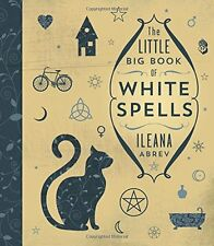 Little Big Book of White Spells Hardcover Book Wiccan Pagan Witch