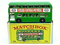 Matchbox Lesney No.74b Daimler Fleetline Bus In Type 'E4' Series Box (GREEN)
