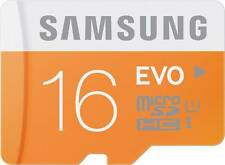 SAMSUNG Evo 16 GB MicroSDHC Class 10 48 MB/s Memory Card-10 Years Warranty- Bill