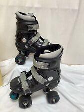California Pro Street Fighter Quad Roller Skates Boots UK1 EU33