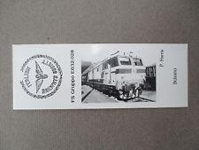 BOOKMARK Italian Railways Society FS Gruppo E632.028 Locomotive Photograph