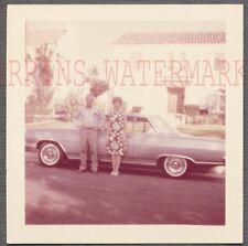 Vintage Car Photo Man & Woman 1964 1965 Chevrolet Chevelle Automobile 764070