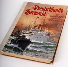 Originale Deutschlands Seemacht 3. Edizione 1909