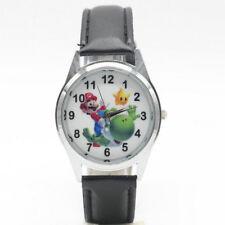 Super Mario Bros Watch Boy Men Girl Yoshi Wristwatch