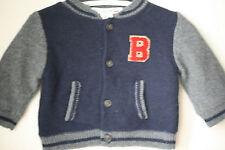 BONPOINT bébé laine angora B Varsity Veste 6 mois