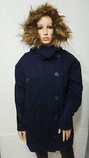 ASOS Warm Wool Blend Parka  with Stepped Hem UK10 RRP£95