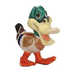 Arora Design - Critter Fuzzy - Mallard Duck Figurine NEW in Gift Box - 25927