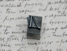 N initial piombo, LETTERA TIMBRO SIGILLO lettere TIMBRO SIGILLO lettera LETTER