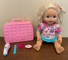 Mattel Little Mommy Doctor Dr. Doll + Accessories & Case Interactive Tested