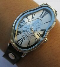 Salvador Dali Melting Watch Time Warp Fluid Wavy Watch Soft to Womens Gold watch