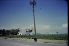 #10 35mm slide - Vintage - Collectibles - Photo - airplane crop duster green
